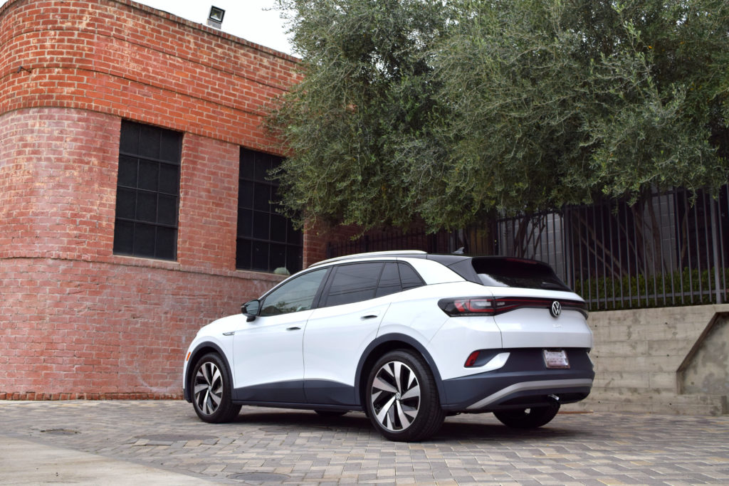 Volkswagen VW ID.4 electric vehicle crossover compact SUV