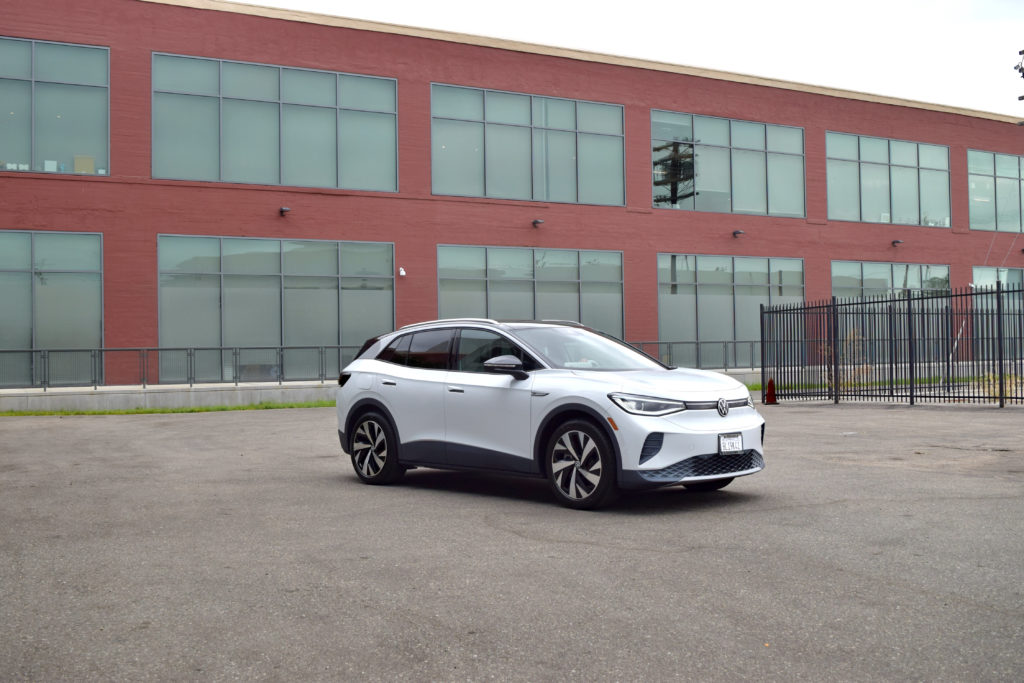 Reserve our VW ID.4 white EV crossover